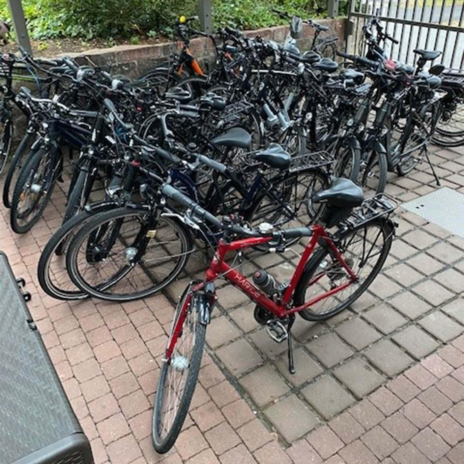 Fahrradstellplatz Kreuzwertheim